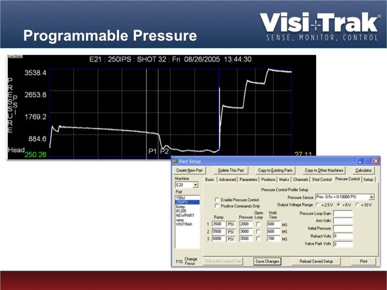 Visi-Trak Die-Casting Process Control- Velocity and Pressure