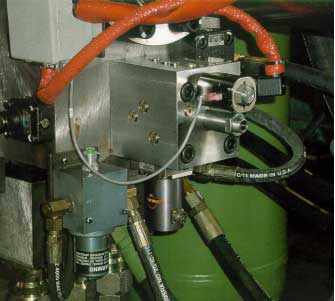 50mm Valve with HR Textron Servo Retrofitted on 600-ton Machine